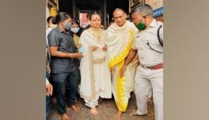 Kangana Ranaut seeks Lord Jagannath's blessings in Puri, terms experience as 'enchanting'