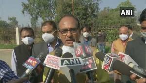 MP: Shivraj Singh Chouhan plants sapling at MP Secretariat to conserve environment