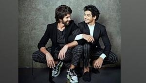 Ishaan Khatter shares adorable throwback picture to wish Shahid Kapoor on birthday