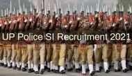 UP Police SI Recruitment 2021: आवेदन करने की आखिरी तारीख नजदीक, ऐसे करें अप्लाई