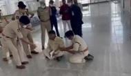 Chandrababu Naidu detained at airport, stages sit-in protest against police behaviour