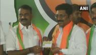 Tamil Nadu Assembly polls: Sitting DMK MLA P Saravanan joins BJP