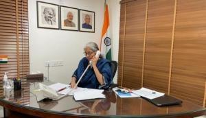 Nirmala Sitharaman 'putting forward lame excuse of inadvertent error': Congress