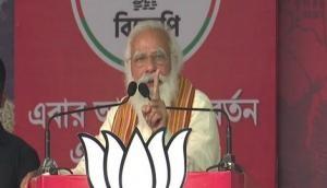 WB Polls 2021: Didi's policies dealt severe blow to Bengal's farmers, craftspersons, says PM Modi