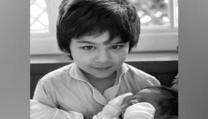 Kareena Kapoor shares picture of younger son with Taimur, calls them 'her hope'