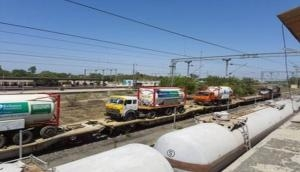 COVID-19: Oxygen Express with highest volumes of LMO arrives Delhi from Hapa