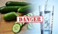 सावधान: खीरा खाने के बाद गलती से भी ना पिएं पानी, पेट में बन जाएगा जहर