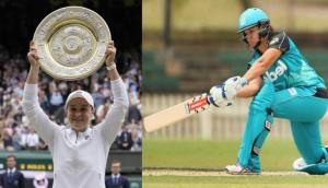 Wimbledon winner Ash Barty was once a cricketer, played for Brisbane Heat in WBBL