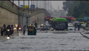 Delhi: Several parts of city waterlogged after torrential rains