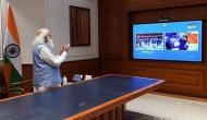 Tokyo Olympics 2021: PM Modi catches glimpses of Opening Ceremony, urges all to 'Cheer4India'