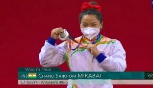 Tokyo Olympics: LS, RS congratulate weightlifter Mirabai Chanu for winning silver medal