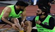 Ranveer Singh shares light moment with MSD as they play football together, calls him 'jaan'