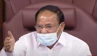 Monsoon Session: RS Chairman Naidu urges Central government, Opposition to resolve stalemate in Parliament