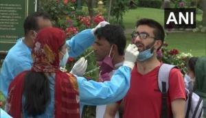 J-K govt sets up rapid antigen testing facility at entrance of Srinagar's Mughal Garden