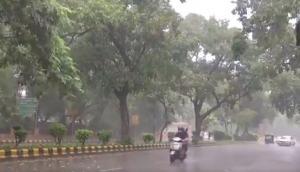 Weather Update: Heavy rains lash several parts of Delhi NCR