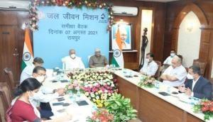 Bhupesh Baghel, Centre assure making Chhattisgarh 'Har Ghar Jal' State by Sept 2023