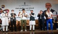 Tokyo Olympics: India's Olympic medallists receive hero's welcome, felicitated by Sports Minister Anurag Thakur