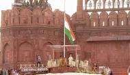 PM Modi inspects guard of honour, hoists national flag at Red Fort