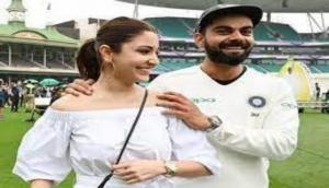 Anushka Sharma celebrates Virat Kohli led team India's win against England