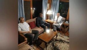 Anand Sharma discusses full statehood, early J-K Vidhan Sabha polls with Farooq, Omar Abdullah