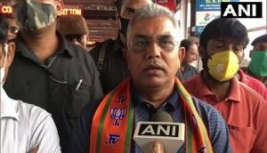 West Bengal post-poll violence: BJP's Dilip Ghosh welcomes Calcutta HC order, says court does not trust state govt