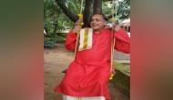 Congress leader Shashi Tharoor celebrates Onam in traditional style