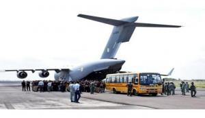 IAF repatriation flight with 168 people from Kabul on its way to Delhi: MEA