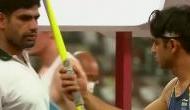 Video: जिस जेवलिन से नीरज चोपड़ा ने जीता गोल्ड, मुकाबले से पहले पाकिस्तानी खिलाड़ी ने हथिया लिया था उसे