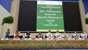Sarbanand Sonowal launches mobile app with five-minute Yoga protocol for working professionals