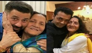 Sunny Deol, Bobby Deol pen heartfelt birthday wishes for their mother
