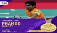 Tokyo Paralympics 2020: PM Modi congratulates shuttler Pramod Bhagat for clinching gold medal