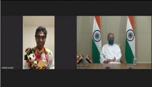 Odisha CM speaks to Pramod Bhagat, congratulates him for winning gold at Tokyo Paralympics
