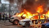 त्रिपुरा: बीजेपी और लेफ्ट के छात्र संगठन में हिंसक छड़प, तोड़फोड़ और आगजनी की घटना में कई घायल