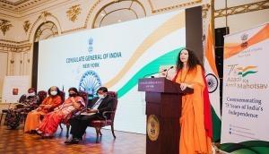 US: American born Sadhvi Bhagawati Saraswati shares her experience of spirituality