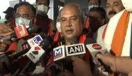 Narendra Singh Tomar reaches Gujarat, set to discuss probable candidates for CM's post