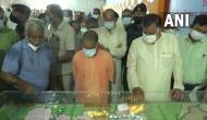 UP CM Yogi Adityanath reviews preparations for foundation stone laying of Mahendra Pratap Singh Varsity in Aligarh