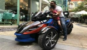 Ajay Devgn pens a special birthday post for his son Yug