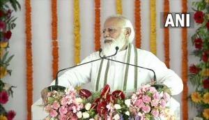 UP: PM Modi lauds Yogi Adityanath governance, law and order