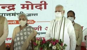 UP: PM Modi lays foundation stone of Raja Mahendra Pratap Singh State University in Aligarh