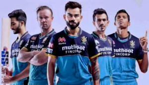 IPL 2021: RCB to sport blue jersey on Sept 20 to pay tribute to frontline workers