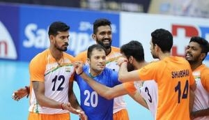 India beat Kuwait to clinch first win at Asian Volleyball Championship