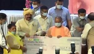 UP CM Yogi distributes tool kits to 21,000 beneficiaries under Vishwakarma Shram Samman Yojana