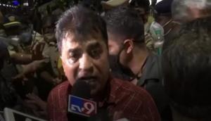 Maharashtra: BJP leader Kirit Somaiya detained at Karad railway station