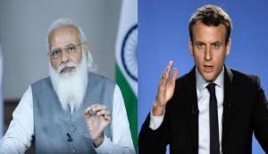पीएम मोदी और फ्रांस के राष्ट्रपति की फोन पर हुुई बात, अफगानिस्तान की स्थिति समेत कई मुद्दों पर की चर्चा