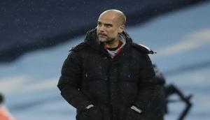 Premier League: Don't have weapon of powerful striker like Chelsea, United, says Guardiola