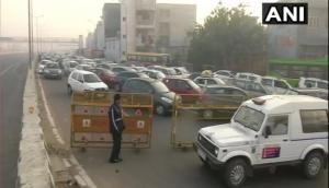 Bharat Bandh: Delhi Police shuts traffic movement towards Ghazipur from UP