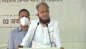 BJP only remembering Mahatma Gandhi's name due to political compulsions: Ashok Gehlot
