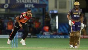 IPL 2021: SRH pacer Umran Malik clocks 151 kmph against KKR, impresses one and all