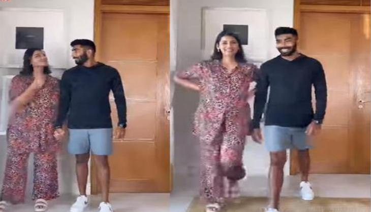 Jasprit Bumrah, Sanjana Ganesan ace viral online trend in this adorable video