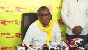 SBSP chief Rajbhar hints at alliance with BJP ahead of UP assembly polls
